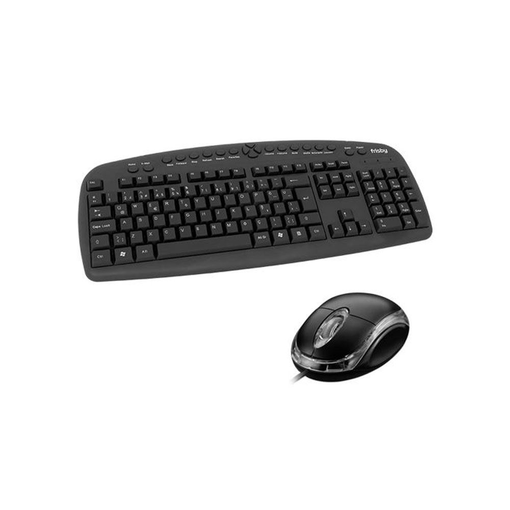 FRISBY FK-146QU Q TR MULTIMEDYA KLAVYE MOUSE SET